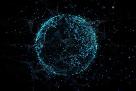 AI globe